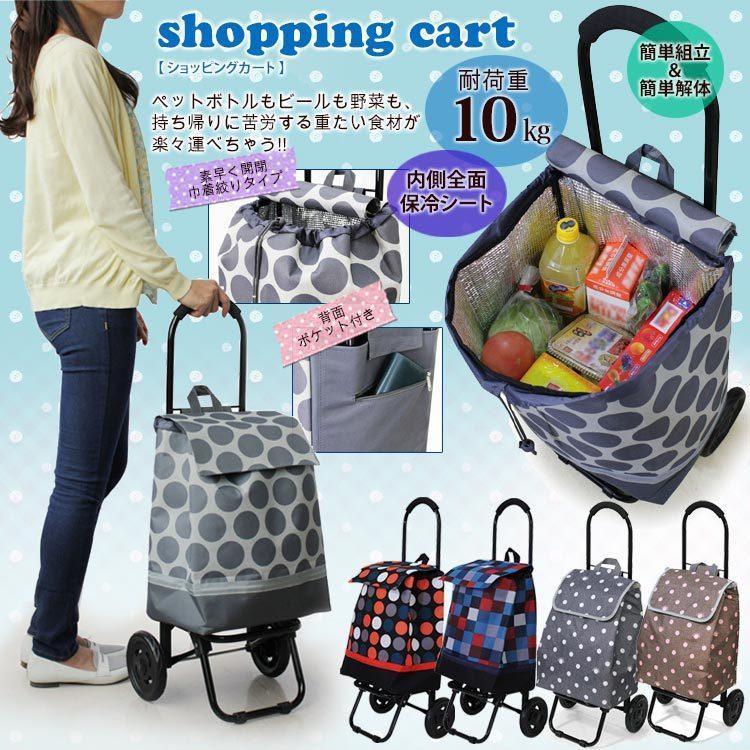 送料無料 代引手数料無料 即納 買い物を楽しく快適にするショッピングカート ギフト プレゼントにも最適 ラッピング不可|fukukichi