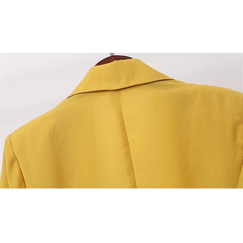 スーツジャケット テーラードジャケット コート トップス チュニック丈 夏 無地 ゆったり レディース フォーマル ジャケット スーツ 綿麻 羽織 無地 体型カバー|fukumarufukumaru|09
