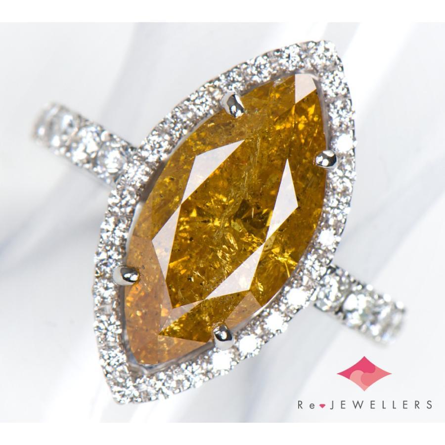 数量限定価格!! FANCY プラチナ900 DEEP ORANGY ダイヤモンド YELLOW ダイヤモンド4.595ct ダイヤモンド 計0.68ct プラチナ900 13号 13号 リング・指輪【】, キョウゴクチョウ:e93d1d84 --- airmodconsu.dominiotemporario.com