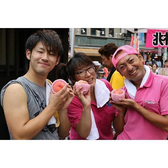 まるせい果樹園の桃 あかつき 中箱 ご贈答用 fukushimamarusei 03
