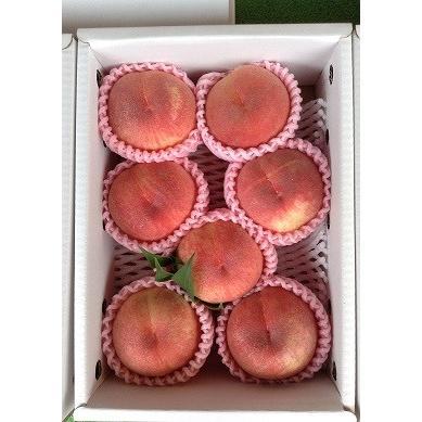まるせい果樹園の桃 あかつき 中箱 ご贈答用 fukushimamarusei 05