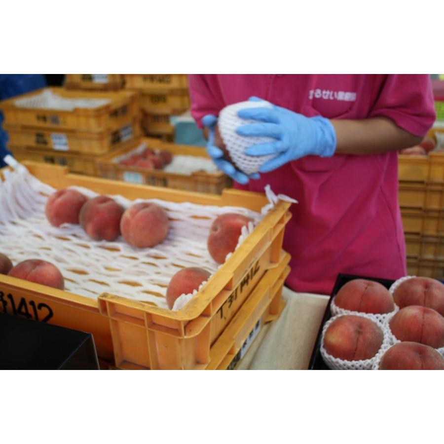 福島|まるせい果樹園|品種お任せ|もも|2k箱|fukushimamarusei|02