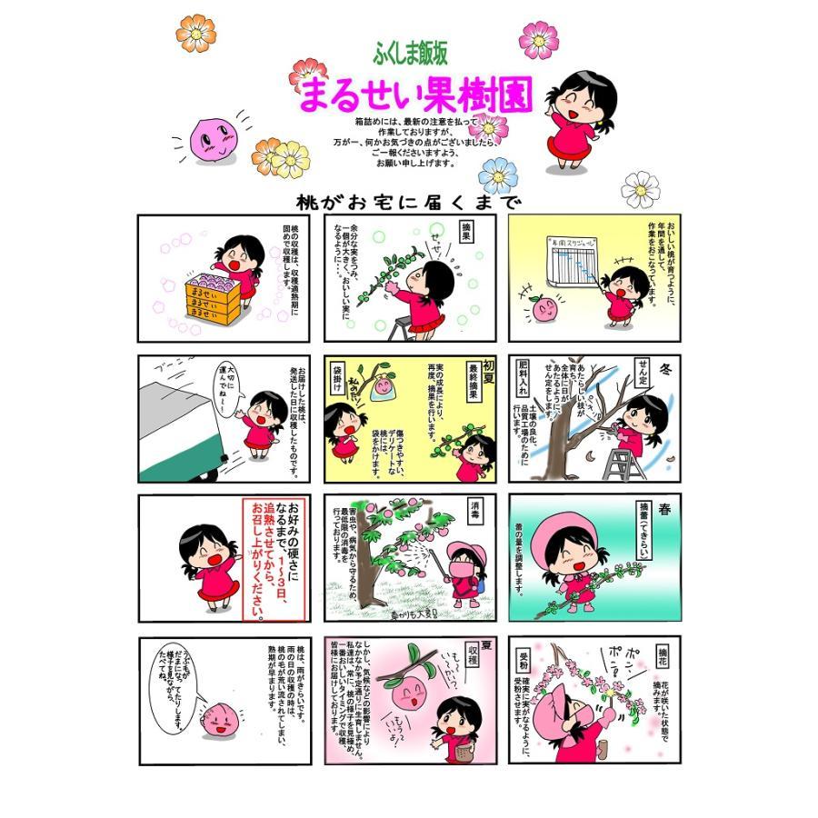 福島|まるせい果樹園|品種お任せ|もも|2k箱|fukushimamarusei|03