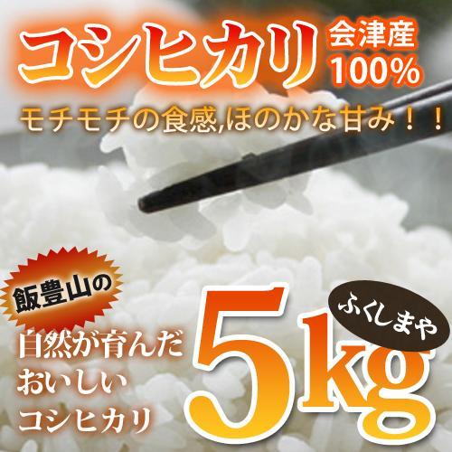 令和2年度産 会津産 コシヒカリ 5kg fukushimasan