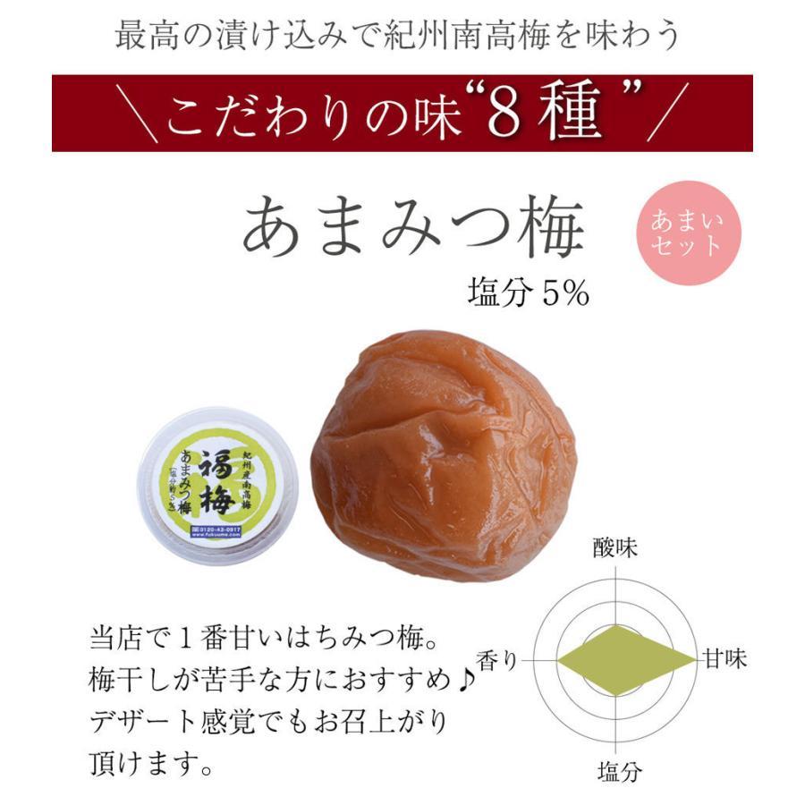梅干し 送料無料 紀州 和歌山 南高梅干し4種類入り お試しセット|fukuumecom|09