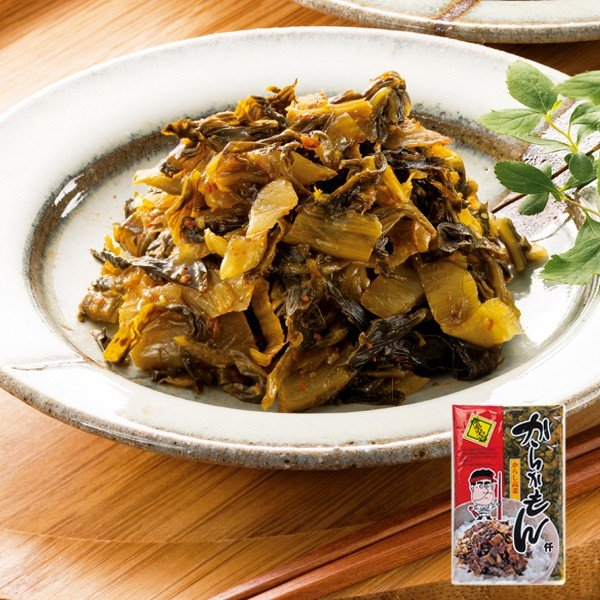 高菜の油炒め 漬物 ご飯のお供 たかな からかもん250g〜味の明太子ふくや 5☆大好評 辛口 定価