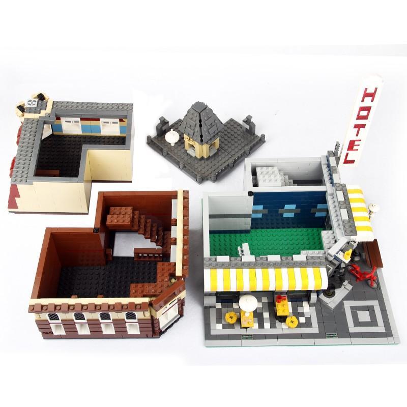 レゴ 10182 カフェコーナー 互換品 クリエイター fulfilldream 04