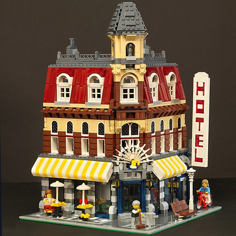 レゴ 10182 カフェコーナー 互換品 クリエイター fulfilldream 09