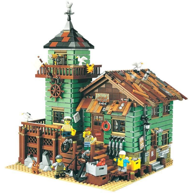 レゴ 互換品 レトロなつり具屋 アイデア 21310 fulfilldream