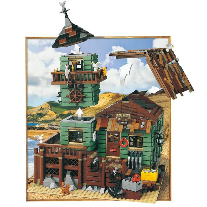 レゴ 互換品 レトロなつり具屋 アイデア 21310 fulfilldream 02