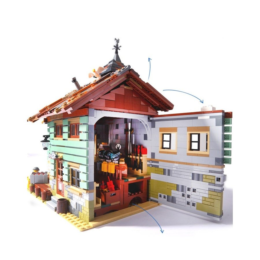 レゴ 互換品 レトロなつり具屋 アイデア 21310 fulfilldream 03