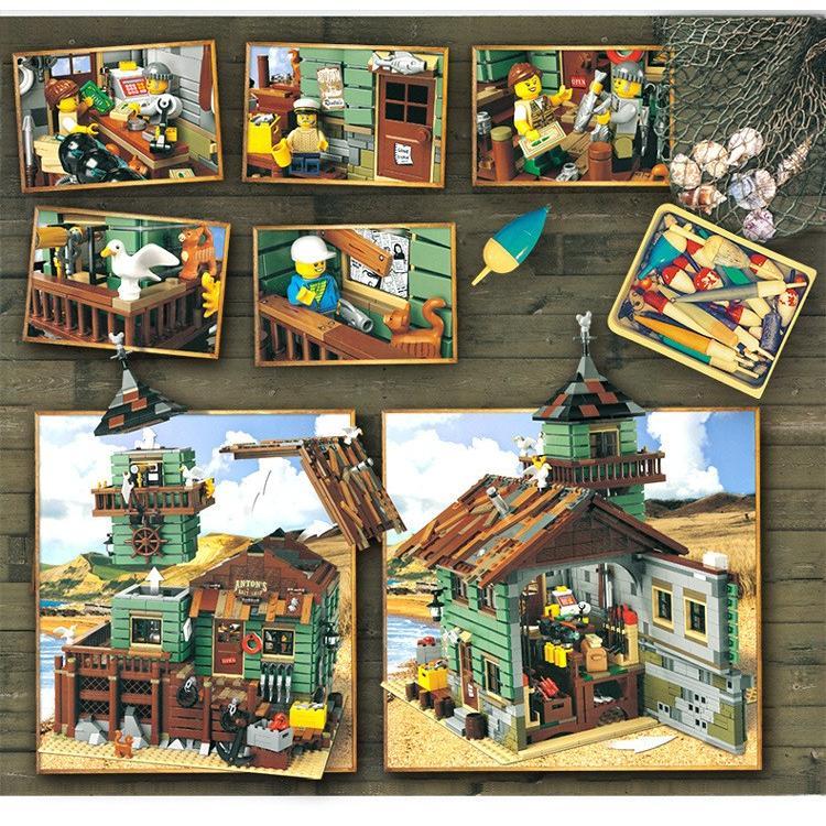レゴ 互換品 レトロなつり具屋 アイデア 21310 fulfilldream 04