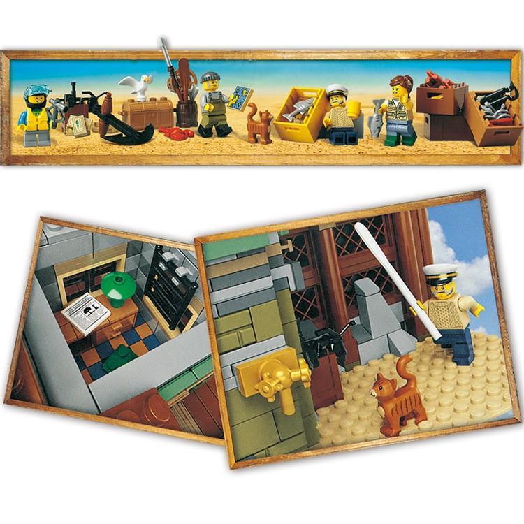レゴ 互換品 レトロなつり具屋 アイデア 21310 fulfilldream 06
