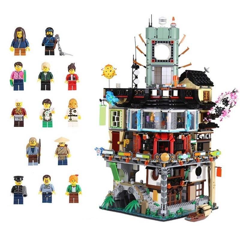 レゴ 70620 ニンジャゴーシティ 互換品