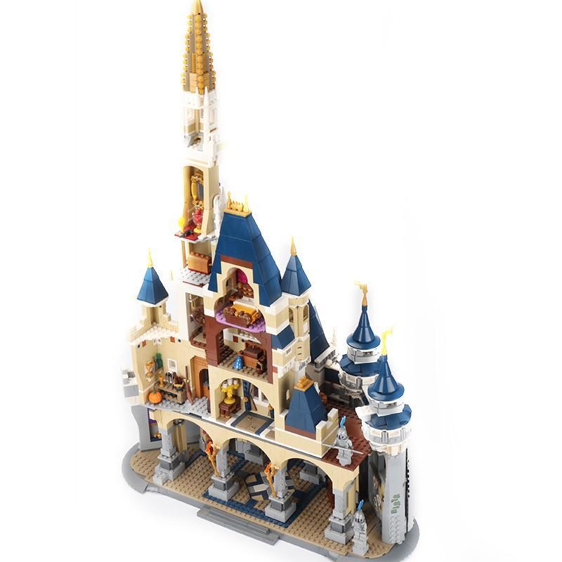 レゴ ディズニー プリンセスシンデレラ城 互換品|fulfilldream|02