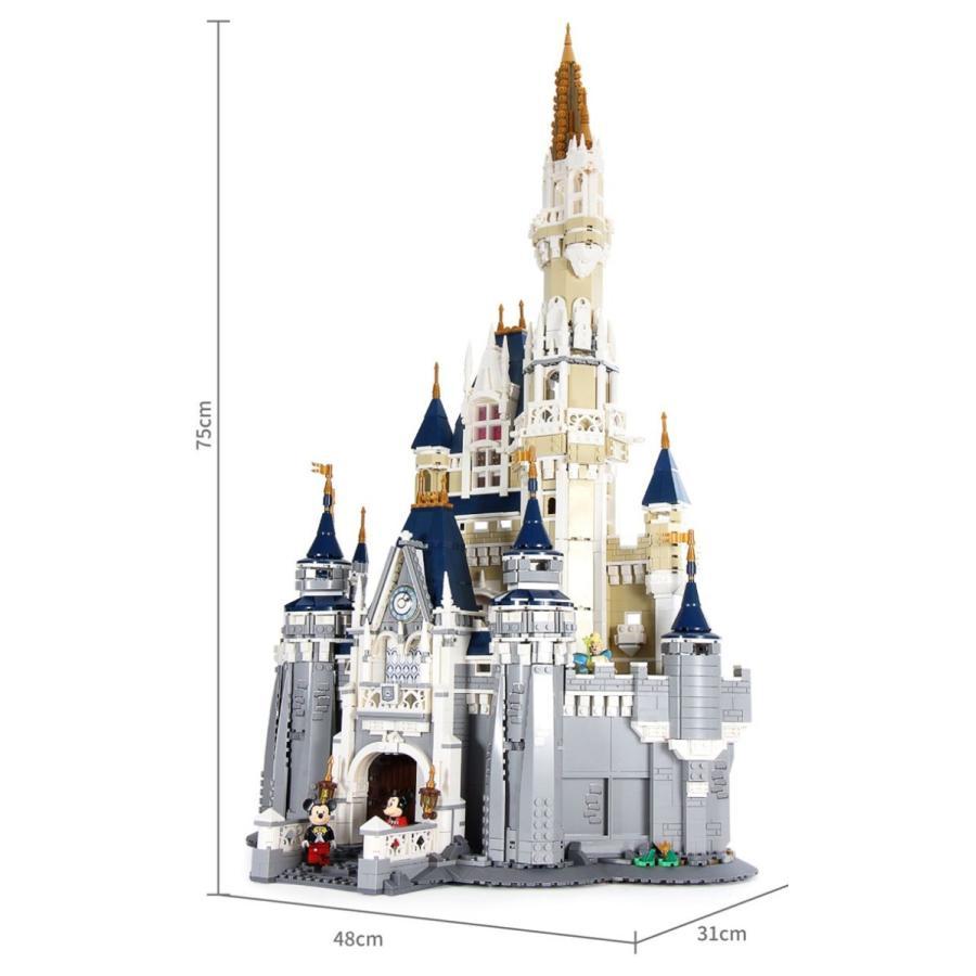 レゴ ディズニー プリンセスシンデレラ城 互換品|fulfilldream|14