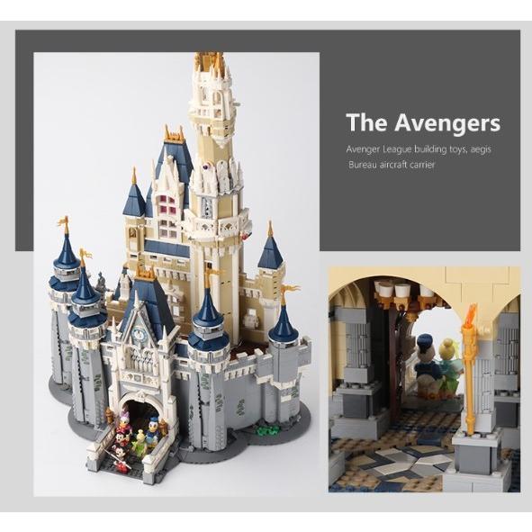 レゴ ディズニー プリンセスシンデレラ城 互換品|fulfilldream|03