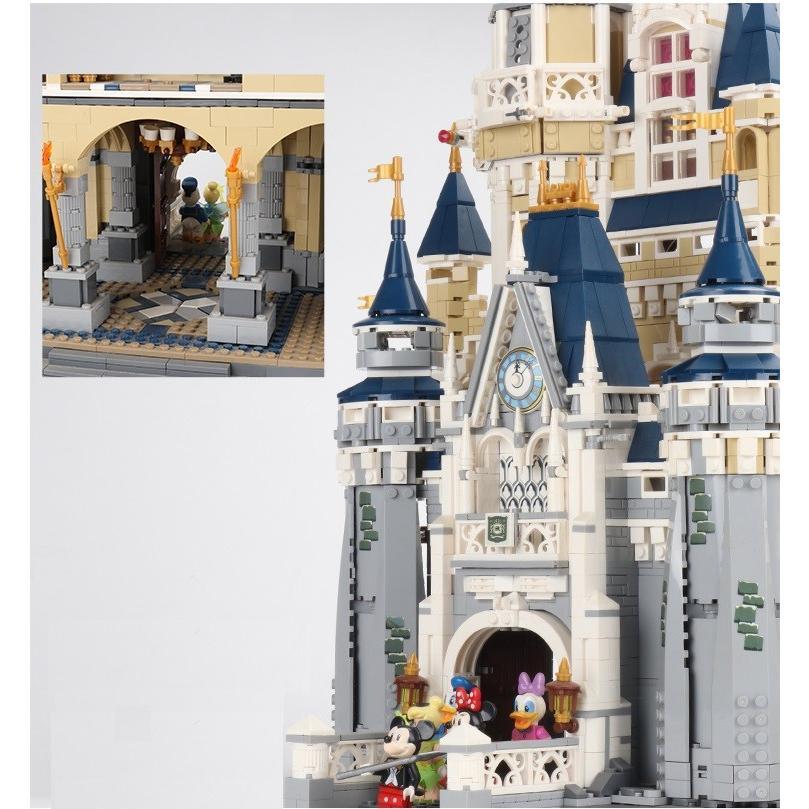 レゴ ディズニー プリンセスシンデレラ城 互換品|fulfilldream|05