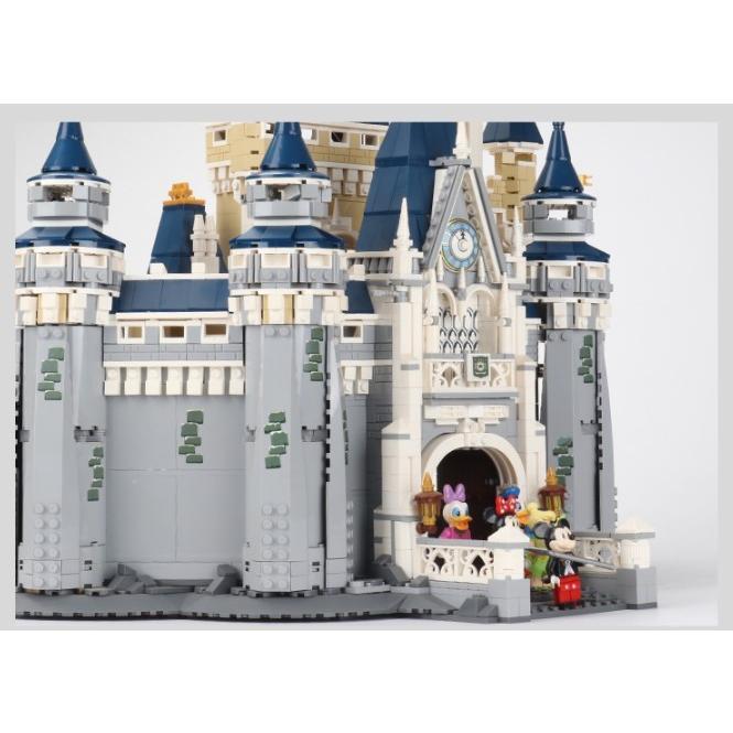 レゴ ディズニー プリンセスシンデレラ城 互換品|fulfilldream|06