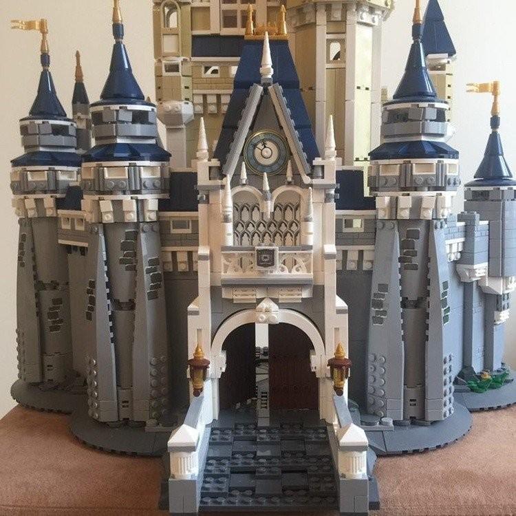 レゴ ディズニー プリンセスシンデレラ城 互換品|fulfilldream|07