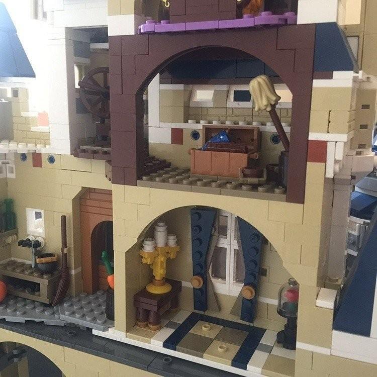 レゴ ディズニー プリンセスシンデレラ城 互換品|fulfilldream|08
