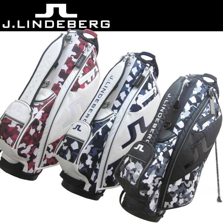 憧れの J.リンドバーグ 083-17300 スタンド型 キャディバッグ カラー=レッドカモ 63 9.5型 3kg 47インチ対応 J.LINDBERG 2018 数量限定/特別価格 即納, バッグと靴のエルシエ(ElleSie) 7c01d7b9
