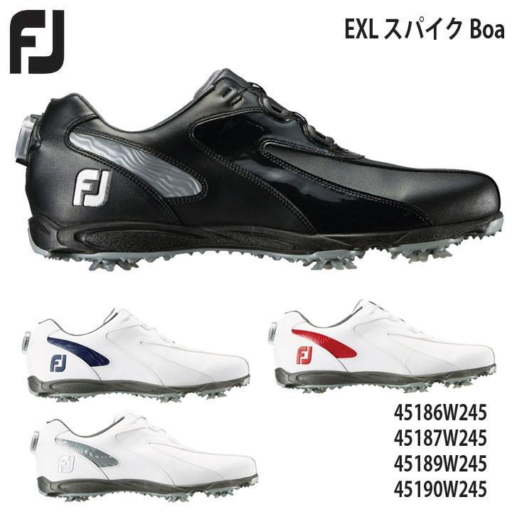 フットジョイゴルフシューズ EXL スパイク Boa 45186 45187 45189 45190 EXL Spaike Boa FOOT JOY 20P