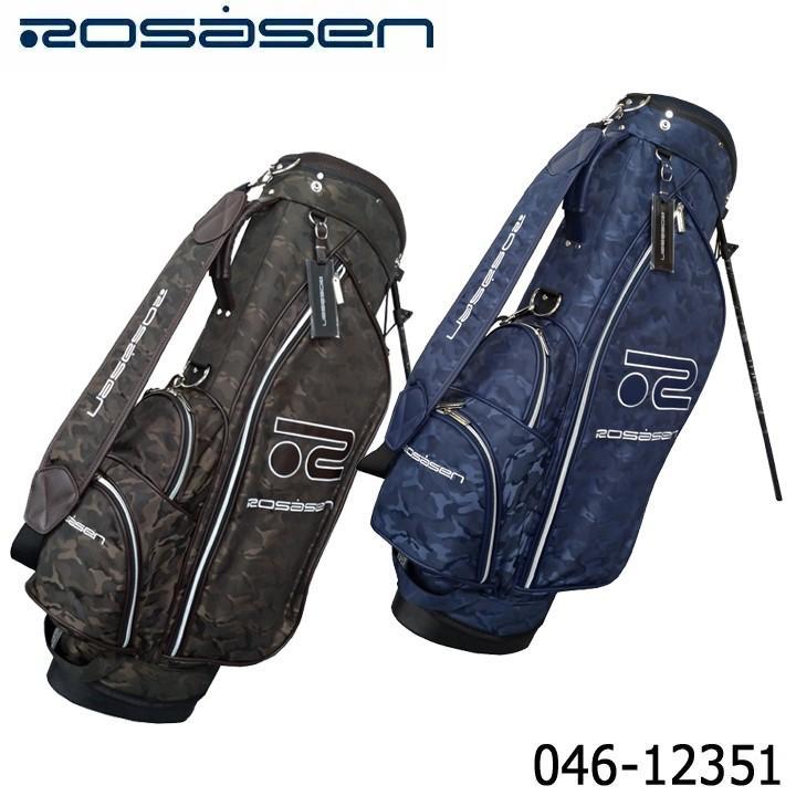 ロサーセン 046-12351 ふるさと割 スタンド キャディバッグ カモフラージュ柄 Rosasen 即納 デポー 数量限定 特別価格 2020 送料無料