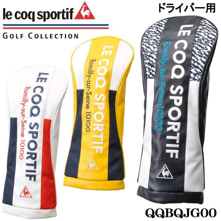 ルコック QQBQJG00 ドライバー用 ヘッドカバー 460cc対応 人気ブランド多数対象 le 30p 特別価格 2020 coq 数量限定 売店