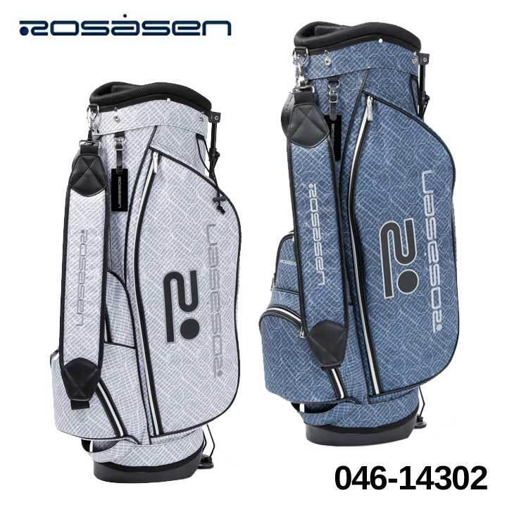 ロサーセン 046-14302 スタンド型 人気 おすすめ キャディバッグ 9型 47インチ対応 2.3kg 2021 即納 ゴルフ 当店は最高な サービスを提供します 特別価格 Rosasen 数量限定