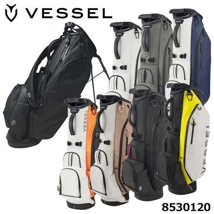 期間限定今なら送料無料 ベゼル 日本産 8530120 プレイヤー3.0スタンド シングルストラップ キャディバッグ 即納 8.5型 VESSEL 2021 約3.4Kg
