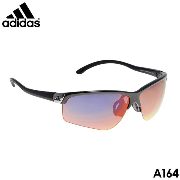 アディダス A164 アドビスタ L スポーツ ゴルフ サングラス シャイニーブラック