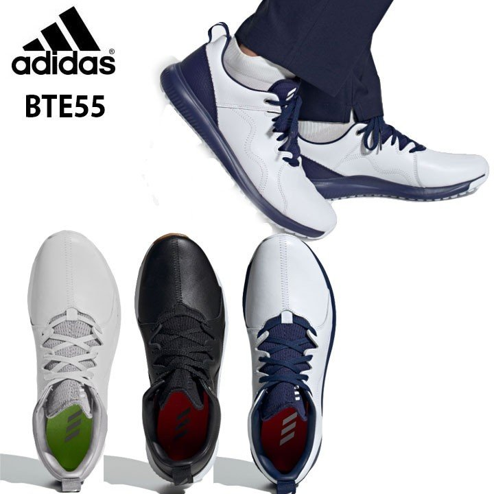 アディダスゴルフ シューズ アディクロス PPF ついに入荷 BTE55 メンズゴルフスパイクレスシューズ 即納 2019 数量限定 adidas 特別価格 高い素材