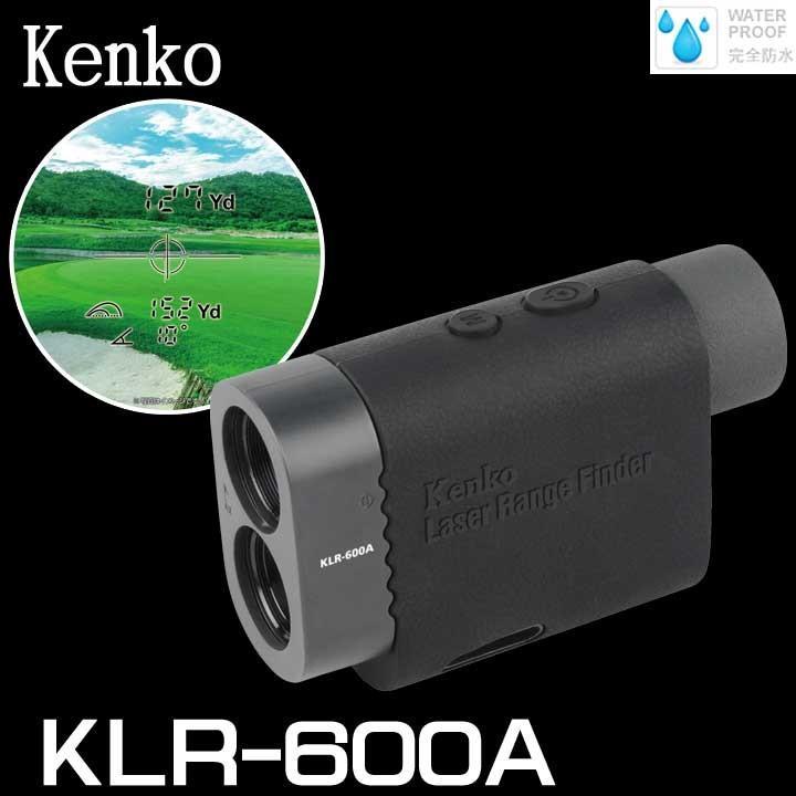 電池付! ケンコー・トキナー レーザーレンジファインダー KLR-600A レーザー距離計 KENKO TOKINA 数量限定/特別価格 送料無料
