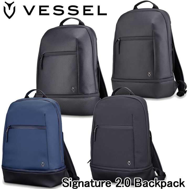 ベゼル シグネチャー 2.0 バックパック 3104118 VESSEL Signature 2.0 Backpack 2019