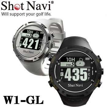 ショットナビ W1-GL 腕時計型GPS ゴルフナビ Shot Navi