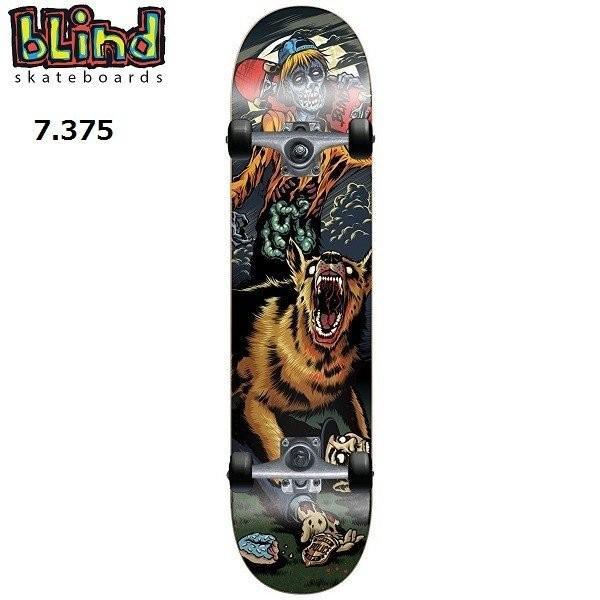 スケートボード コンプリート キッズ BLIND MAD DOG YOUTH 7.375 送料無料 即納