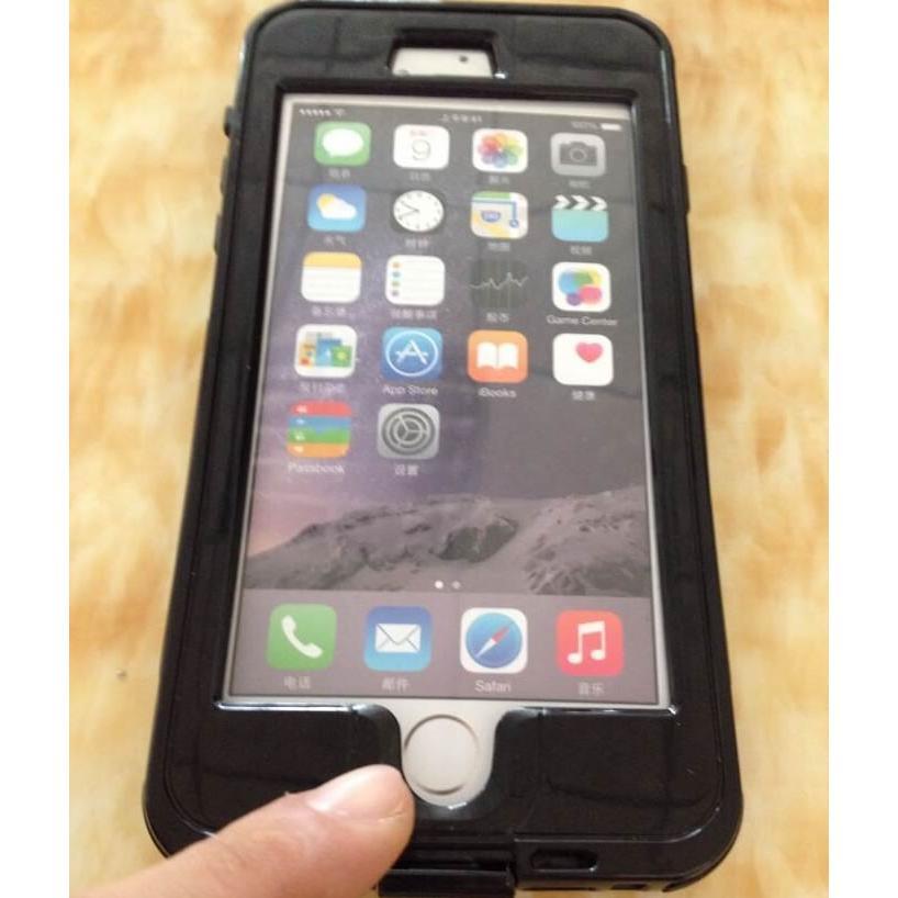 安さに挑戦! 指紋認識対応 iPhone6Plus防水ケース 5.5インチ専用 防水・防塵ケース ip6smc55