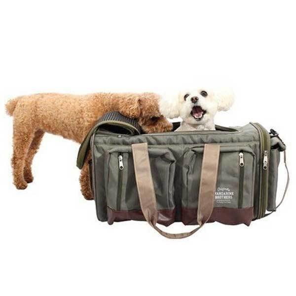犬 キャリーバッグ マンダリンブラザーズ ビックポケットキャリー リニューアル Big Pocket Carry Bag 小型犬 MANDARINE BROTHERS おすすめ funnish 03