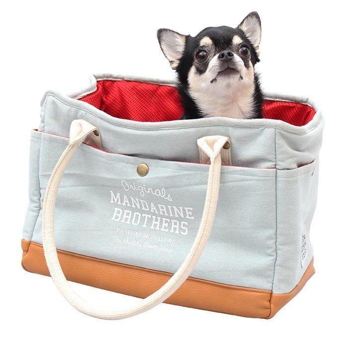 犬 キャリーバッグ マンダリンブラザーズ 小型犬 チワワ トイプードル ポメラニアン おしゃれ ミニバック MANDARINE BROTHERS / MINI CARRY BAG funnish 12