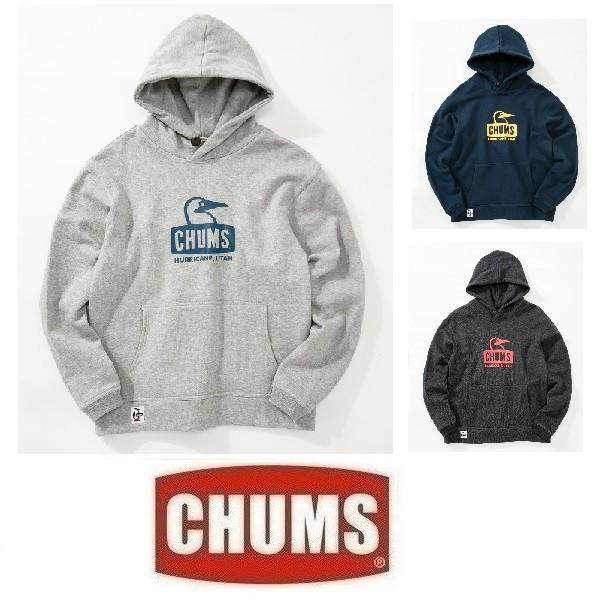 CHUMS チャムス ブービーフェイスプルオーバーパーカー CH00-1222 スウェット 裏起毛 フード アウトドア