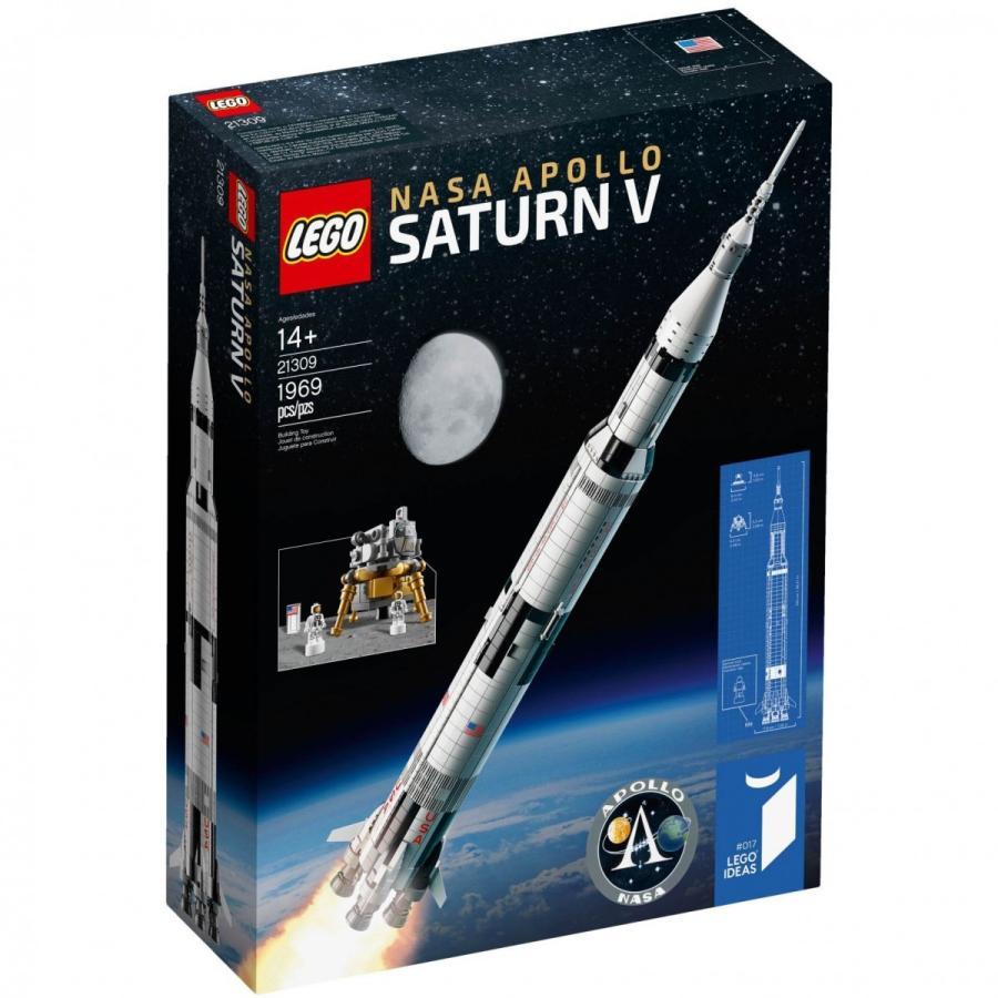 レゴ LEGO NASA アポロ計画 サターンV アイデア 21309