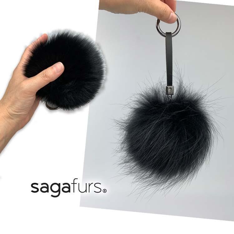 SAGA フォックス キーホルダー ポンポン タイプ直径10cm程度 日本製|furaurore|03