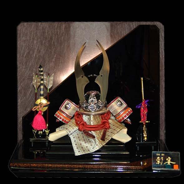 五月人形 電装付兜 彩宴65604 お買上げ陣羽織プレゼント