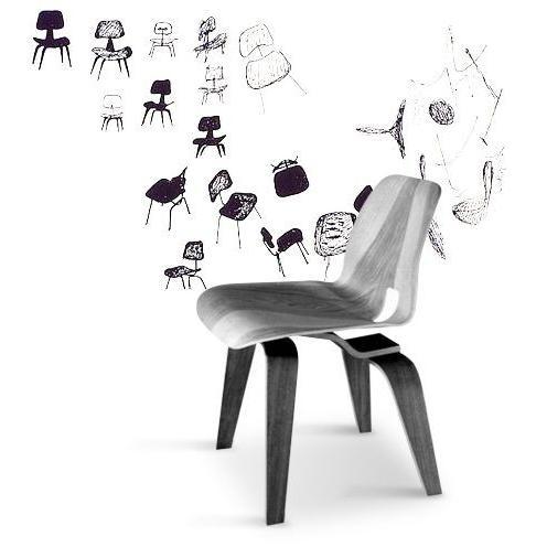 イームズ プライウッド ダイニングチェア ウッドレッグ DCW ハーマンミラー社 furniture-direct 04