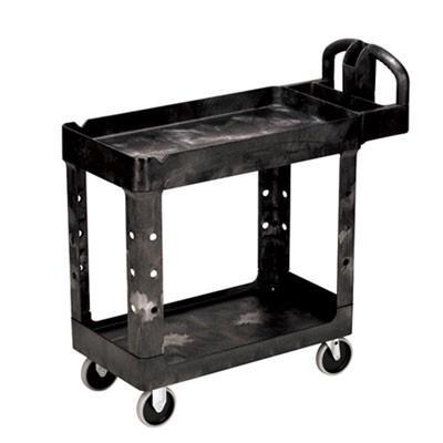 ラバーメイド ヘビーデューティーユーティリティーカート RM450088BK ブラック W978×D435×H987mm