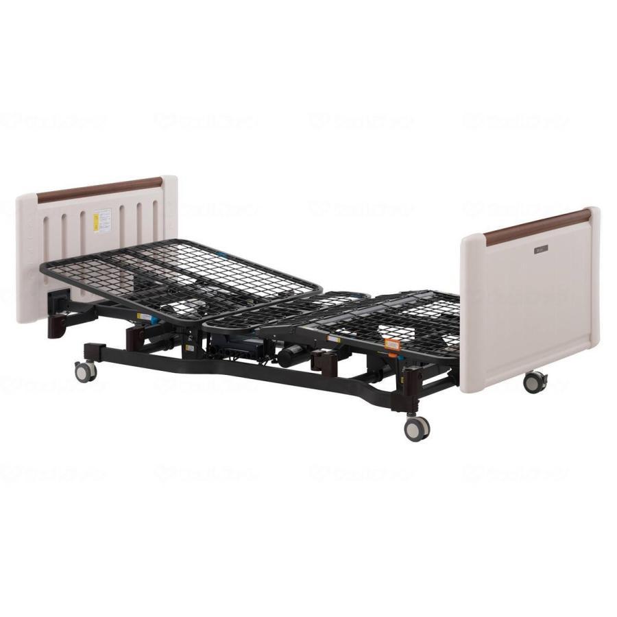 介護用3モーターベッド ミオレットII (レギュラータイプ) ホワイティ レギュラータイプ