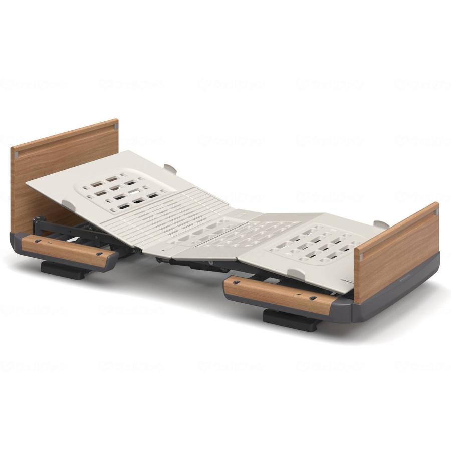 楽匠Z/背上げ1モーション(木製ボード)ミニ ミディアム 83cm幅・足側:低