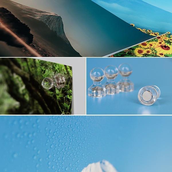 【送料無料】体感型お風呂ポスター「いまここ。(IMACOCO)」マグネット取付けタイプ(Lサイズ)【日本製 おふろポスター 繰り返し使える 富士山 貼り換え自由】 furo 05