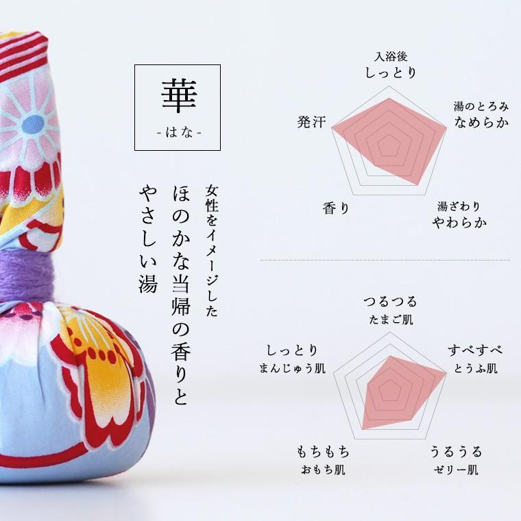 入浴剤「浴玉(Yokudama)Hanabi」ジップバッグ入り(和・華)2個セット【日本製 バスソルト 岩塩 温泉気分 おしゃれ 炭酸 水素 にごり湯 保湿 ギフト 国産】 furo 09
